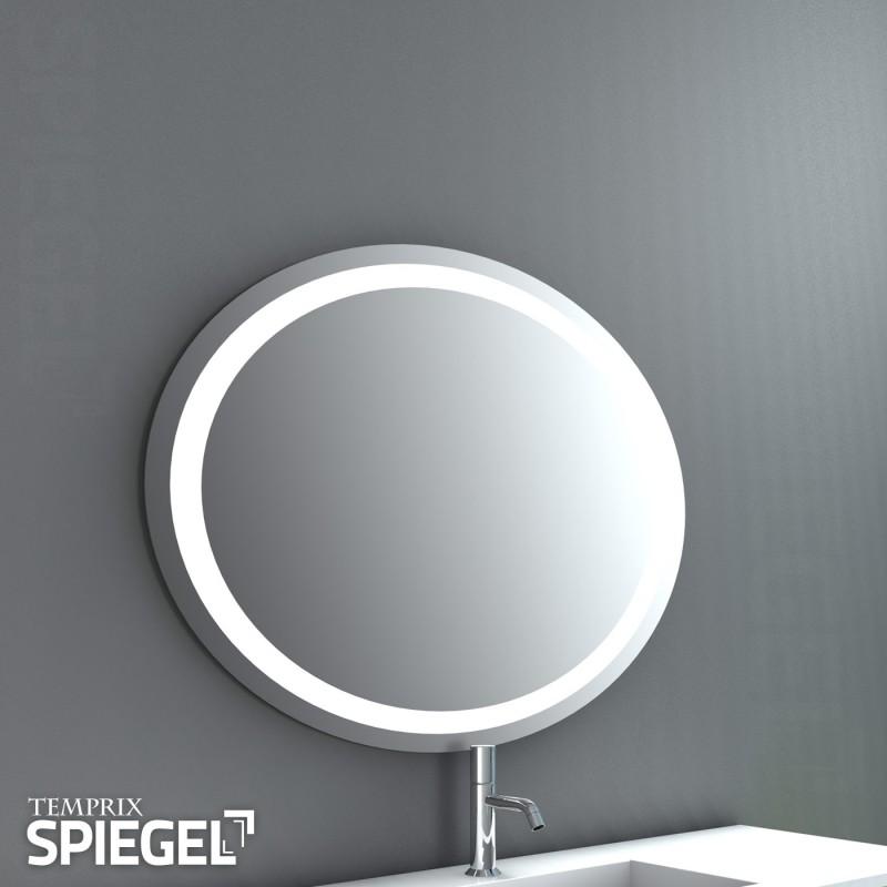Spiegel mit beleuchtung rund  Badspiegle LED Saturn Badspiegel bei Spiegelwerk.eu