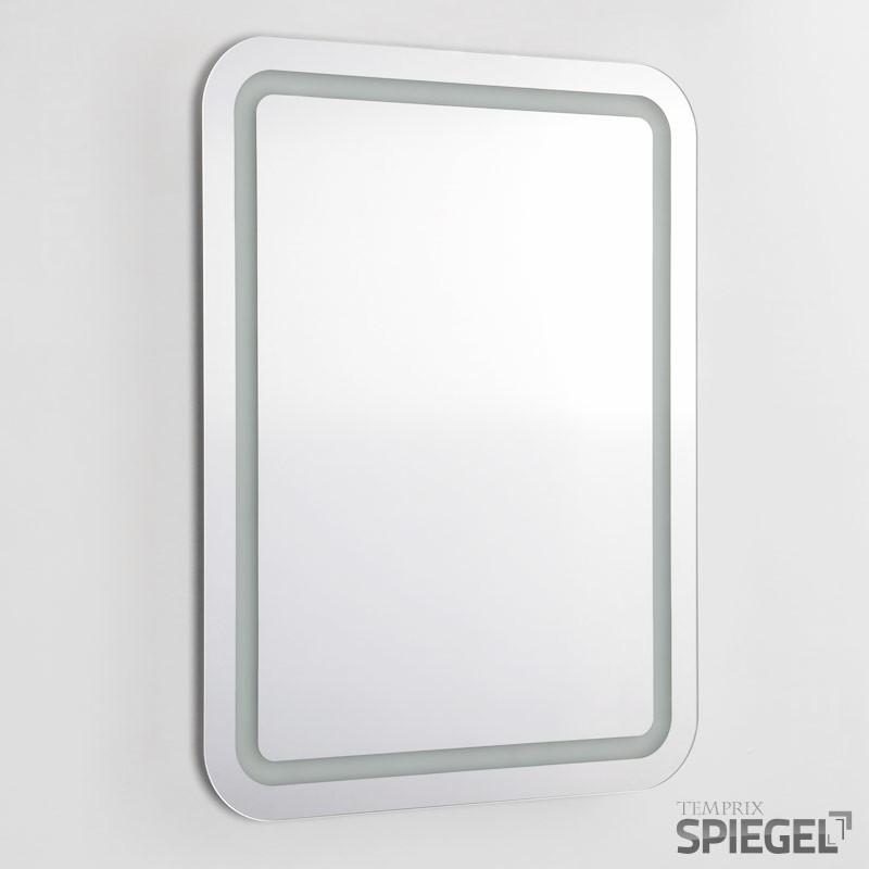 spiegel wandspiegel mit licht badspiegel led beleuchtung perfekt 80 x 60 cm ebay. Black Bedroom Furniture Sets. Home Design Ideas