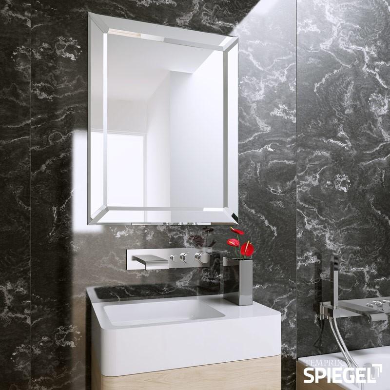 wandspiegel silver badspiegel kaufen. Black Bedroom Furniture Sets. Home Design Ideas