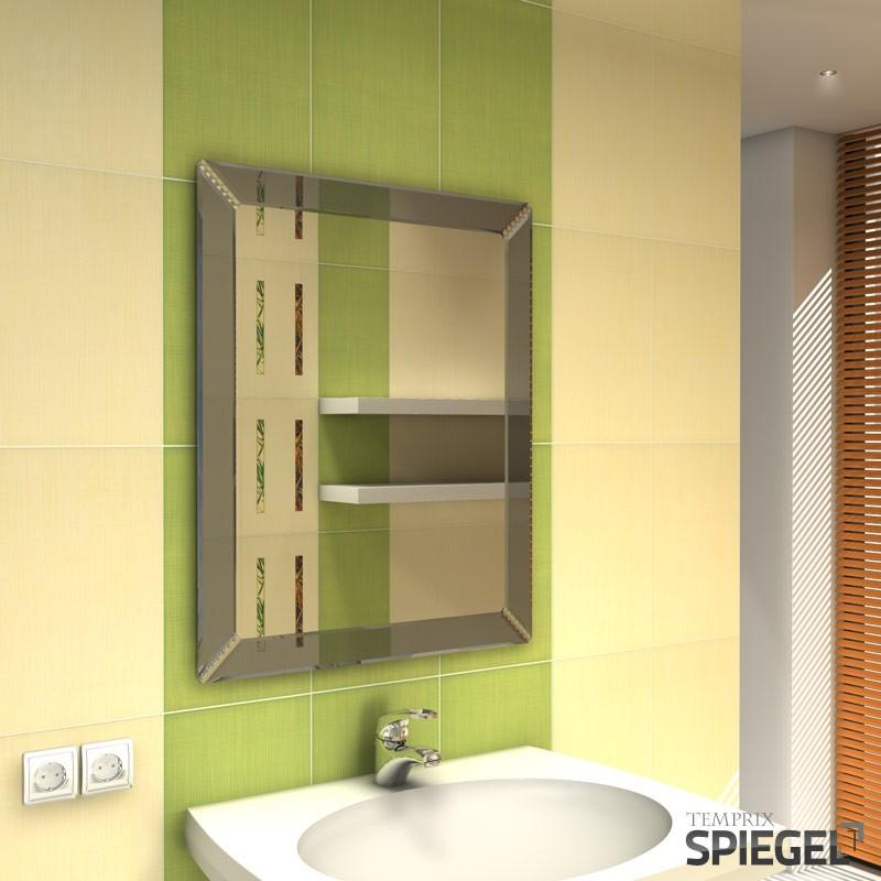 Wandspiegel syrius badspiegel led spiegelshop for Wandspiegel badspiegel