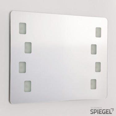 Midas LED Badezimmerspiegel Wandspiegel Badspiegel mit Beleuchtung