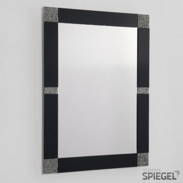 Wandspiegel Opus black mit Rahmen