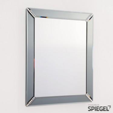 Wandspiegel mit Rahmen Syrius Schwarz Badezimmerspiegel Badspeigel