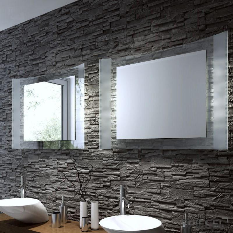 Badspiegel mister wandspiegel schminkspiegel - Badspiegel mit beleuchtung obi ...