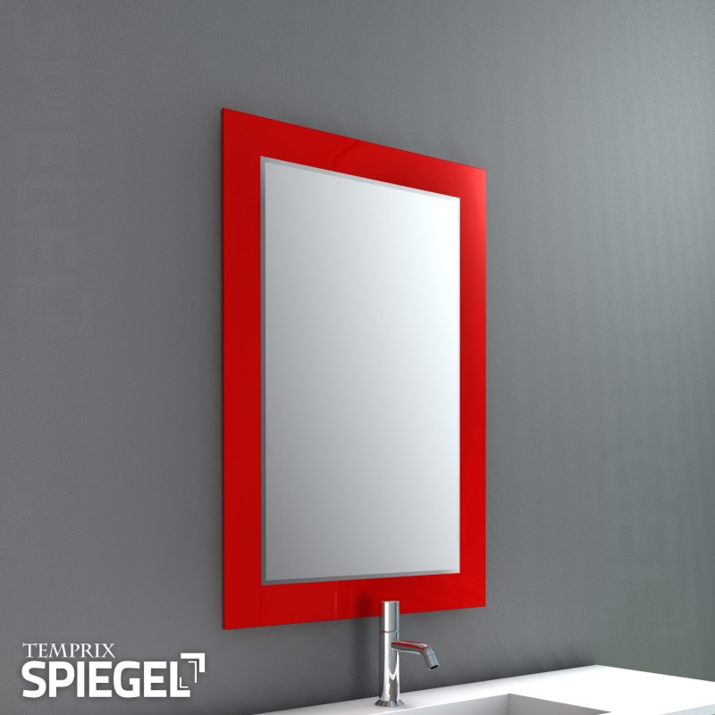 Wandspiegel Ferro red Spiegel online