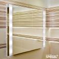 BAdspieegl LED Beleuchtung Helios Wandspiegel im Spiegelshop Lichtspiegel
