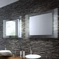 Badspiegel mit besonderem Design - Mister