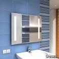 Selene small Badspiegel Led Leuchtspiegel Badspiegel mit Beleuchtung