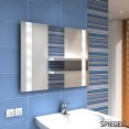 Helios Badspiegel LED beleuchtet Wandspiegel