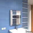 Lokki II mit Lichtschalter Badspiegel BAdezimmerspiegel