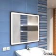 beleuchtet Prego II Badezimmerspiegel Spiegelwerk