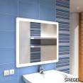 Prego white II Badspiegel